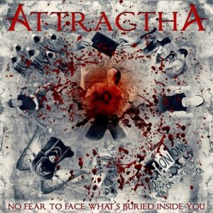 AttracthA - No Fear To Face What's Buried Inside You - (Brazil) 2016 - Mixing, Mastering